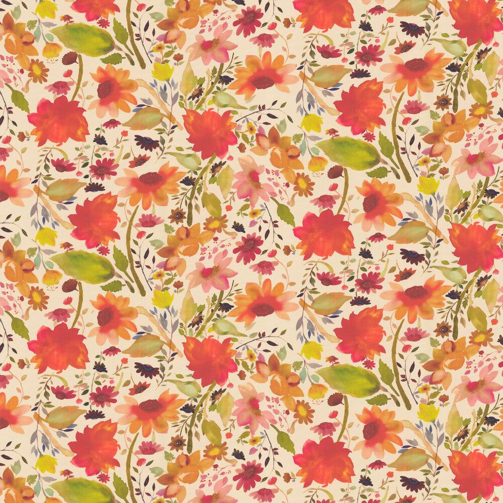 Clarke & Clarke Martine Multi-coloured Wallpaper - Product code: W0071/01