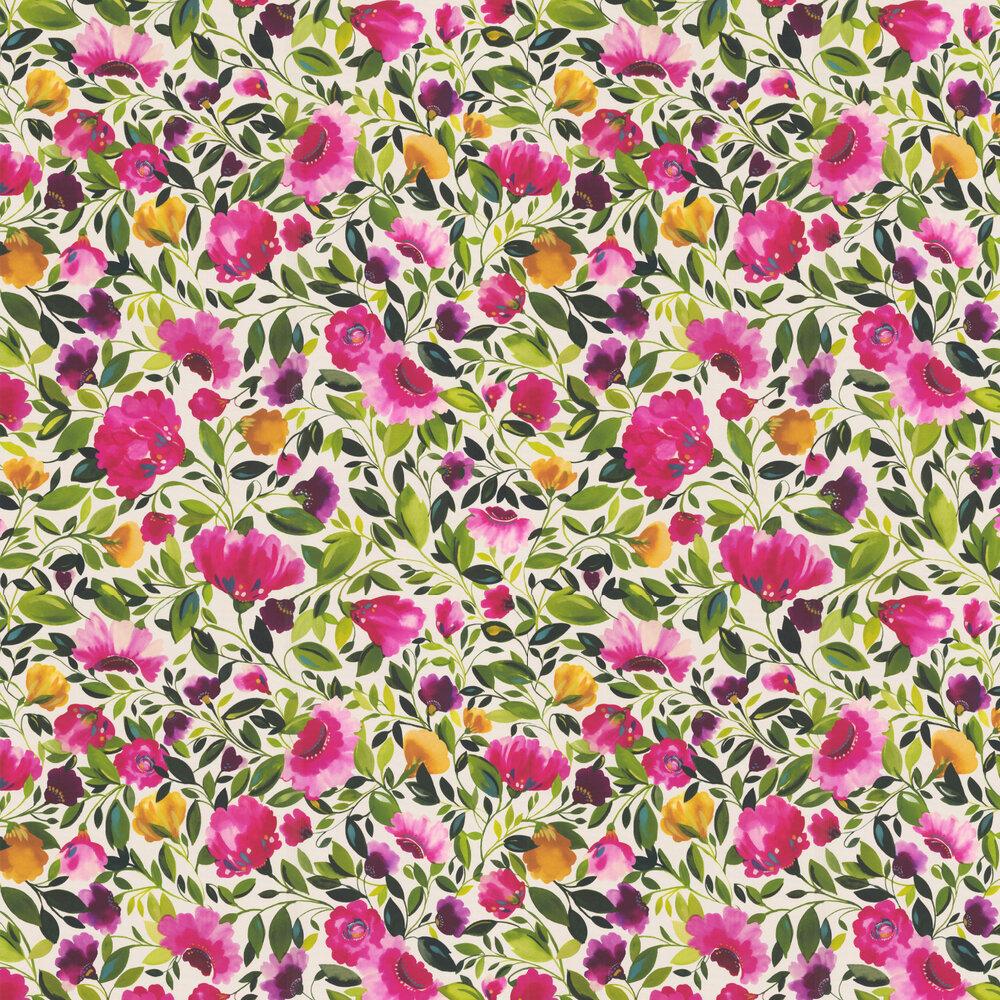 Clarke & Clarke Rosina Fuchsia Wallpaper - Product code: W0074/01
