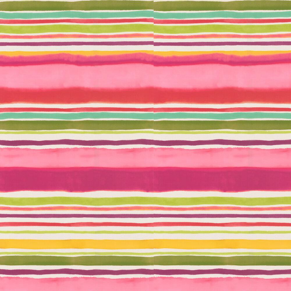 Clarke & Clarke Sunrise Stripe Multi Wallpaper - Product code: W0076/02