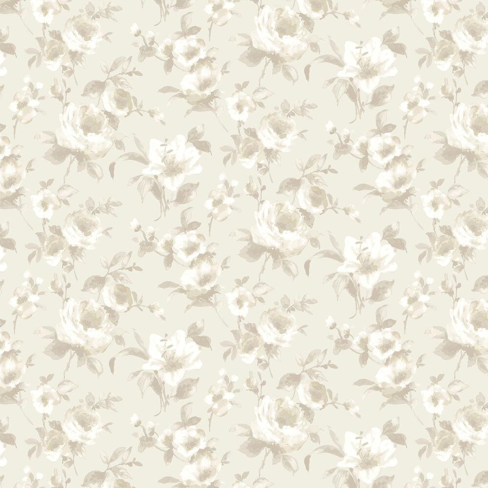 Rosanna Wallpaper - Cream - by SketchTwenty 3