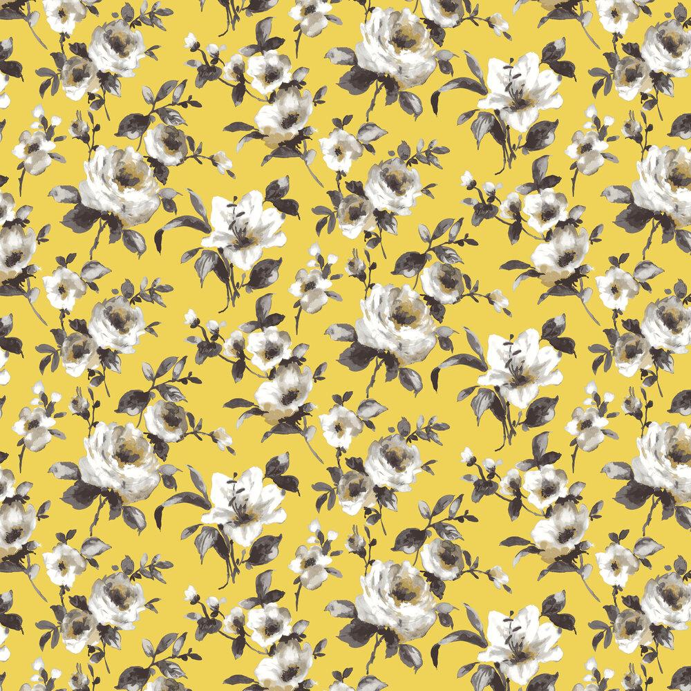 Rosanna Wallpaper - Citron - by SketchTwenty 3