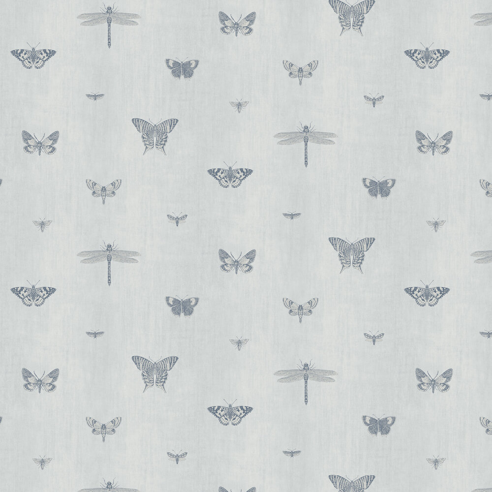 SketchTwenty 3 Sketch Sky Blue Wallpaper - Product code: LP00312