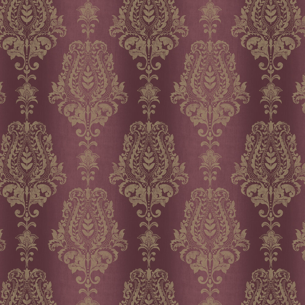 Jasmin Wallpaper - Wine - by SketchTwenty 3