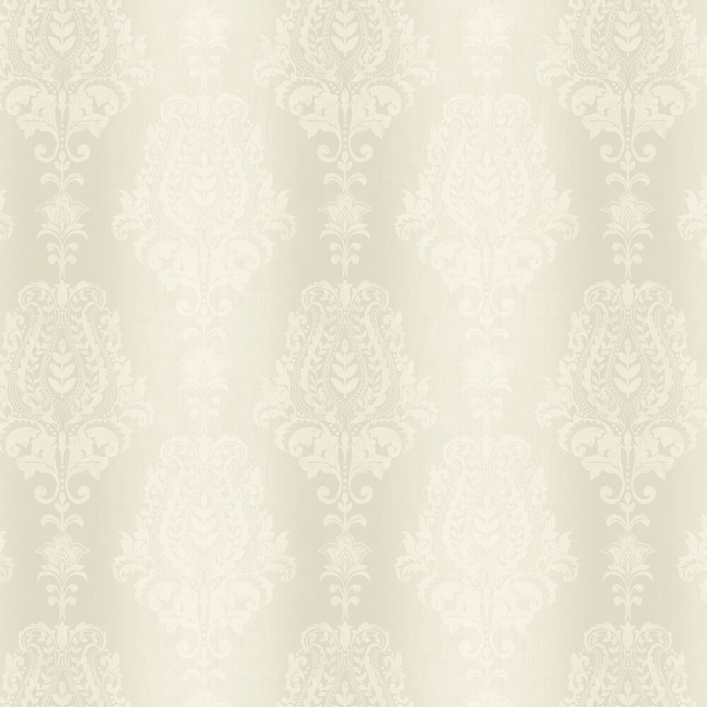 Jasmin Wallpaper - Ivory - by SketchTwenty 3