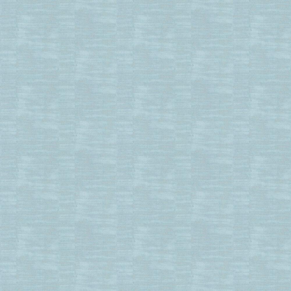 Soft Weave Wallpaper - Aqua - by Casadeco