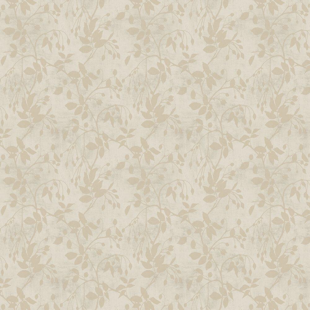 Leaf Wallpaper - Bronze - by SketchTwenty 3
