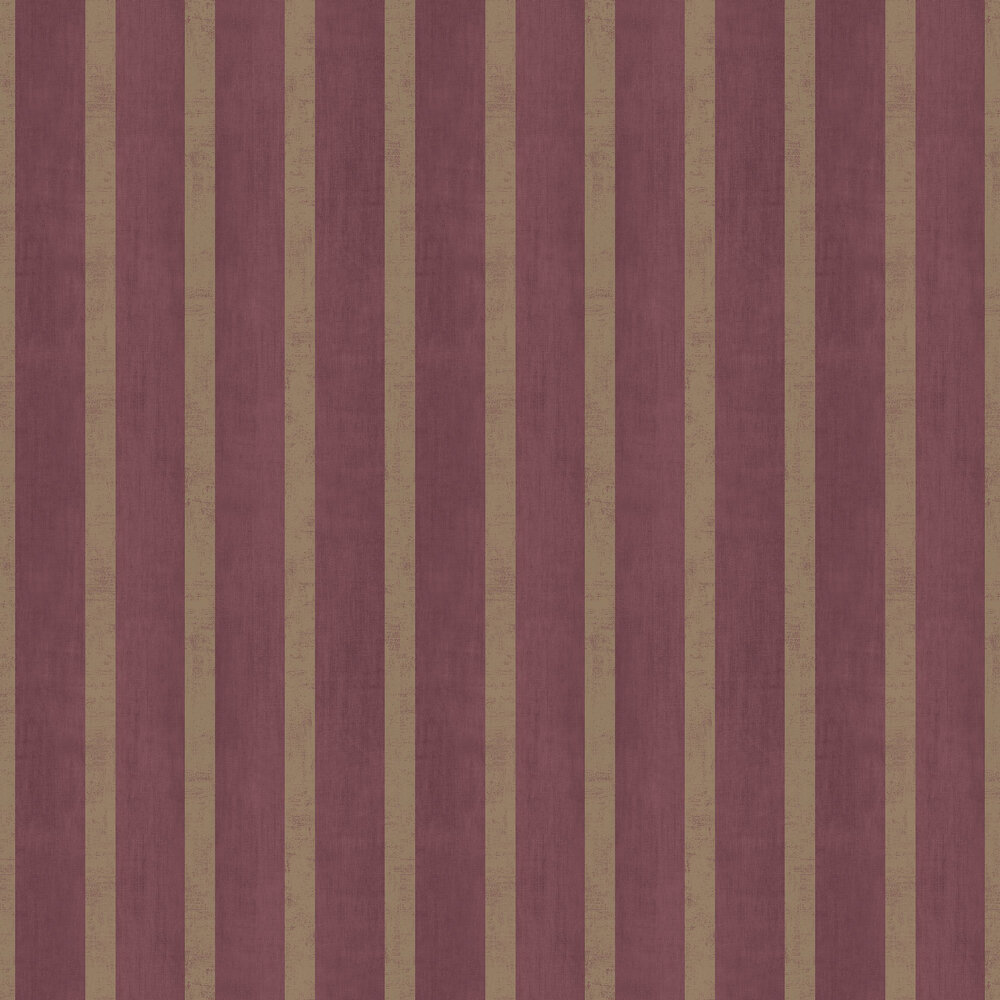 Jasmin Stripe Wallpaper - Wine - by SketchTwenty 3