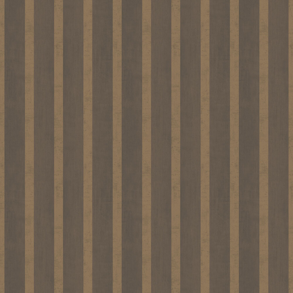Jasmin Stripe Wallpaper - Bronze - by SketchTwenty 3