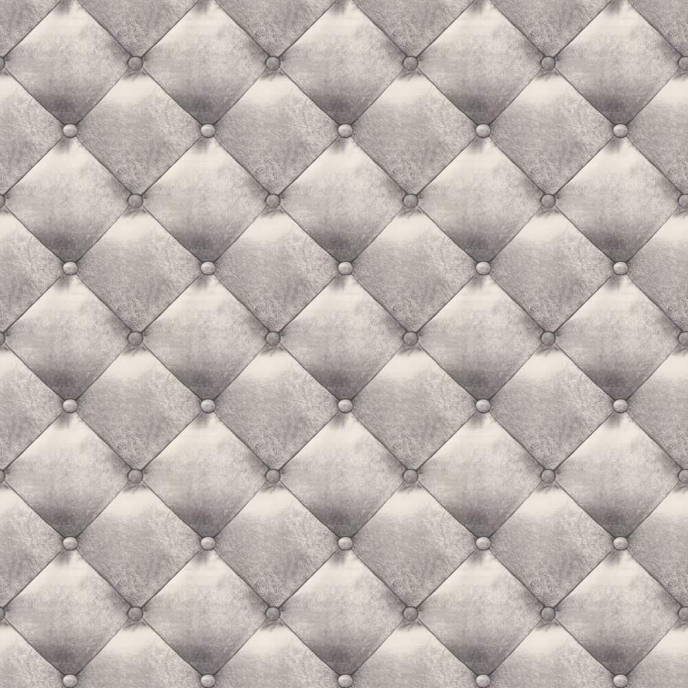 Casadeco Leather effect Grey Wallpaper - Product code: 65629000