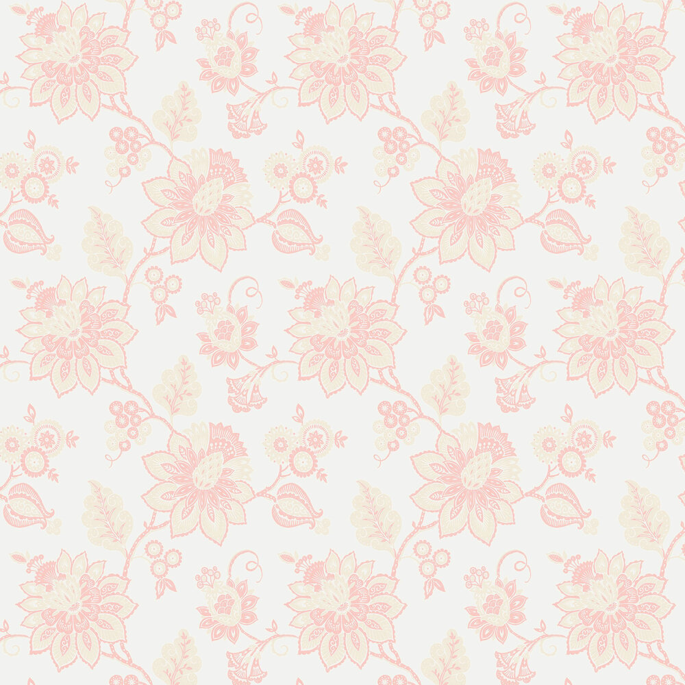 Eva Wallpaper - Padstow Pink - by Albany