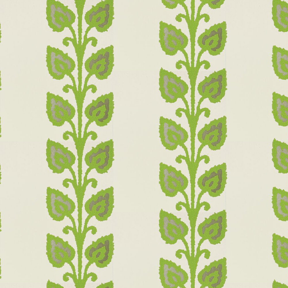 Temecula Wallpaper - Green - by Thibaut