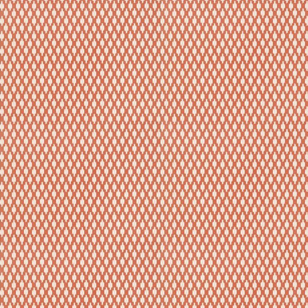 Troy Wallpaper - Coral - by Thibaut