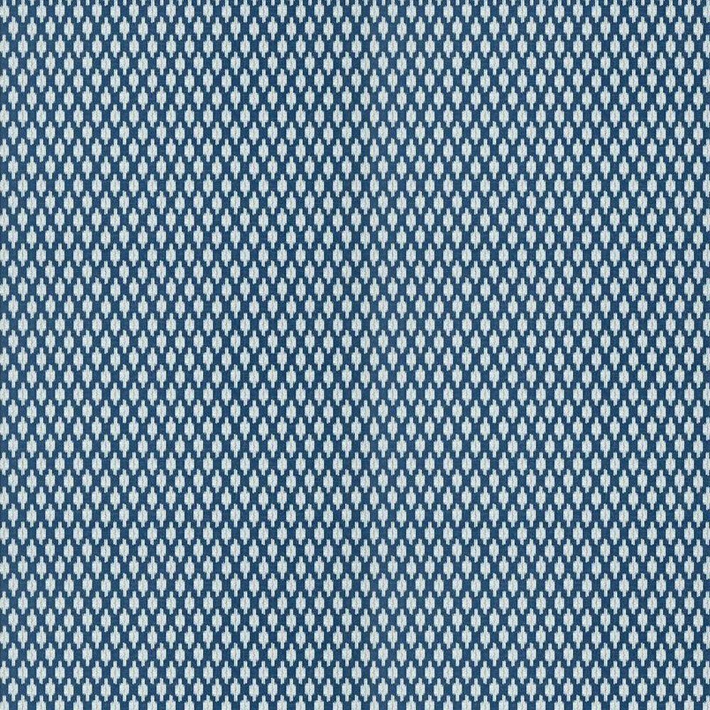 Troy Wallpaper - Navy - by Thibaut