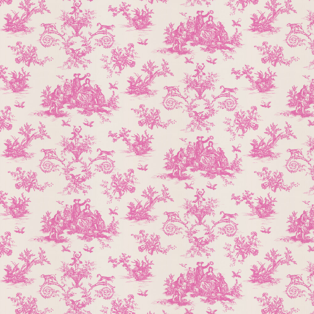 Albany Toile Moreton Pinkney Wallpaper - Product code: CB3001