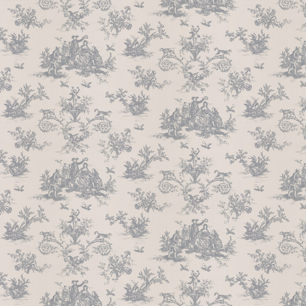 Toile Wallpaper - Embley - by Albany