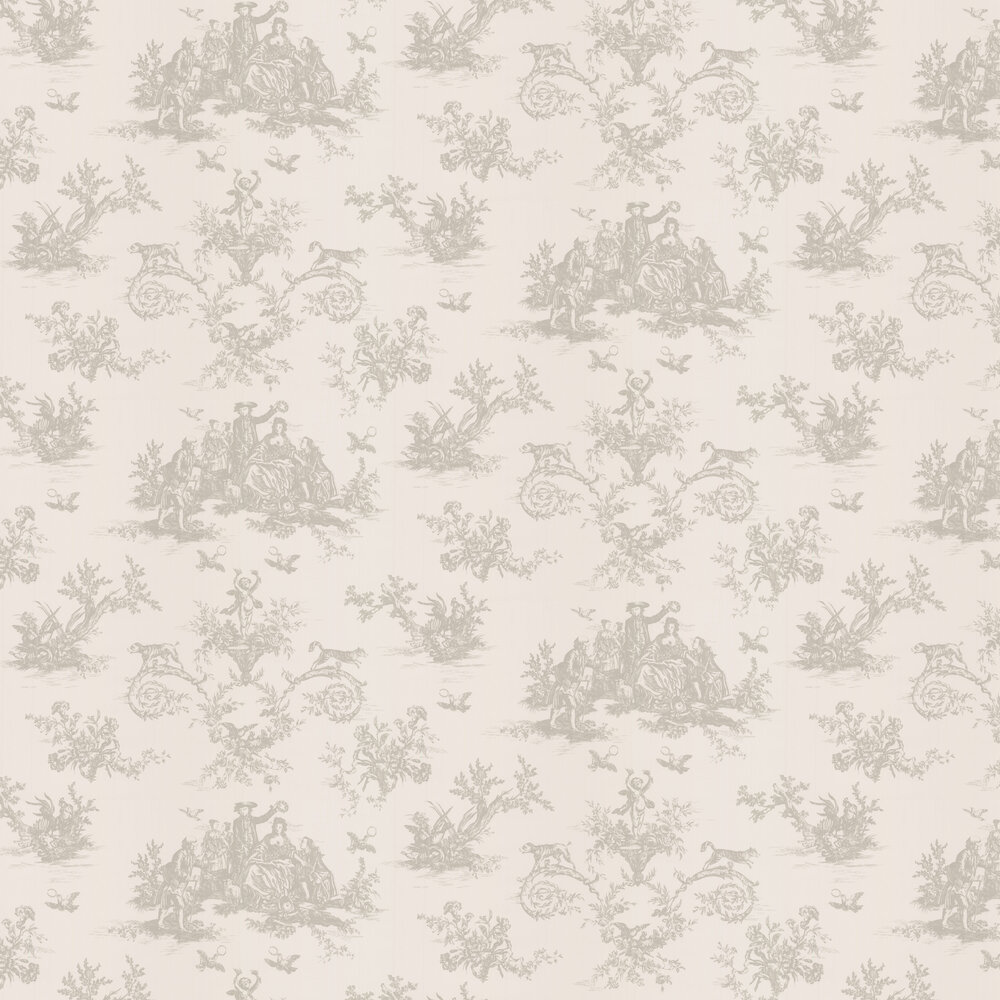 Toile Wallpaper - Pevensey - by Albany