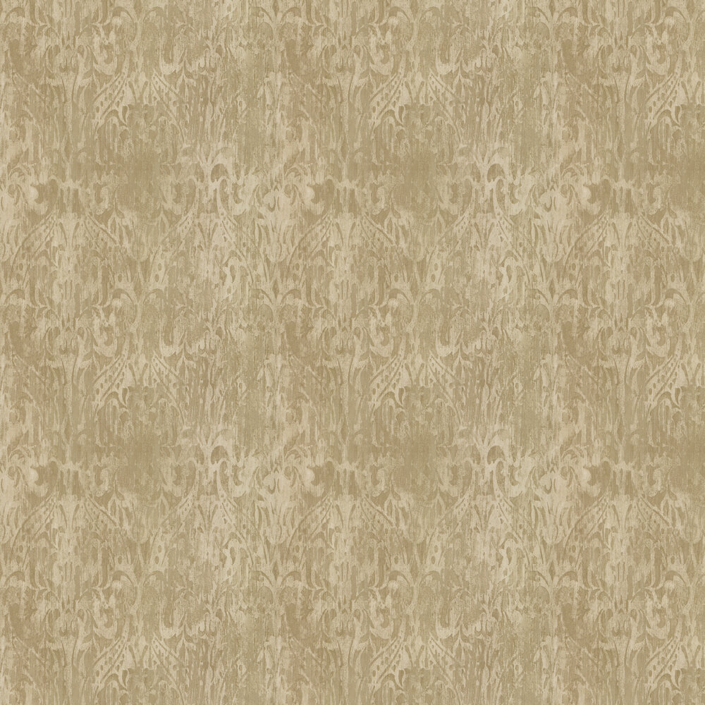 Aurora Wallpaper - Gilt - by Prestigious
