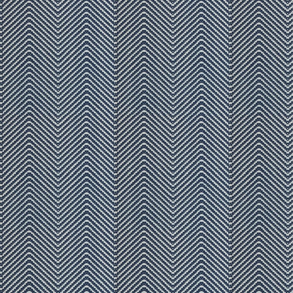 Chevron Blue Black Wallpaper - by Barneby Gates