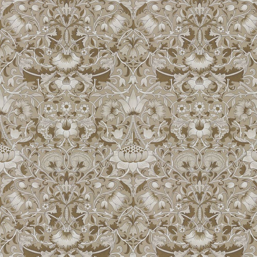 Morris Pure Lodden Gilver / Gold Wallpaper - Product code: 216029