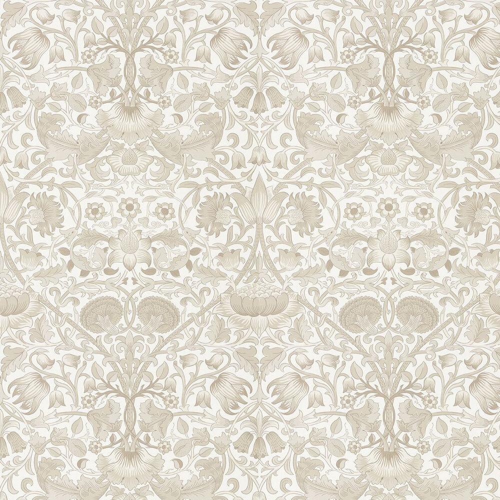 Pure Lodden Wallpaper - Ivory / Linen - by Morris