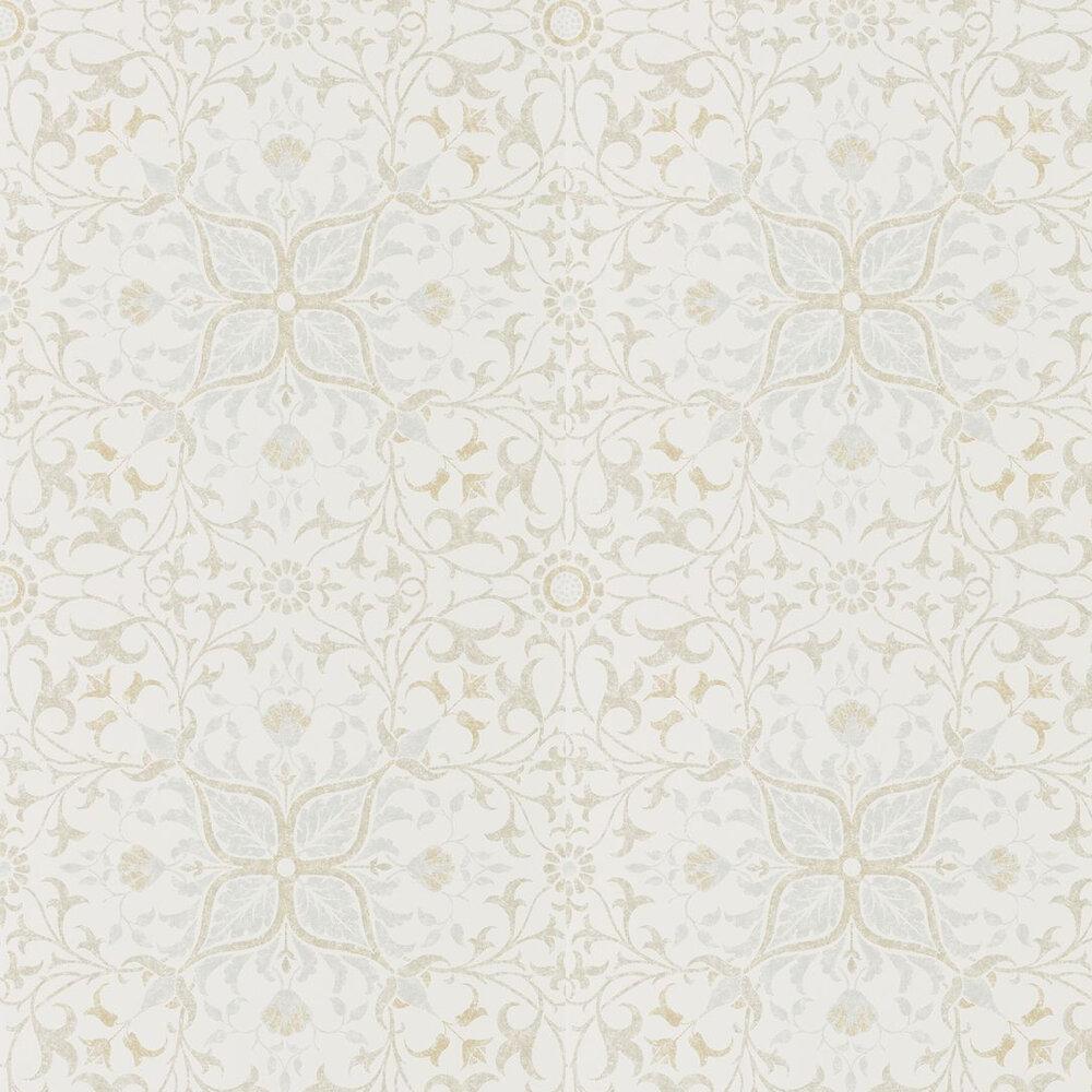 Pure Net Ceiling Wallpaper - Cream / Eggshell - by Morris