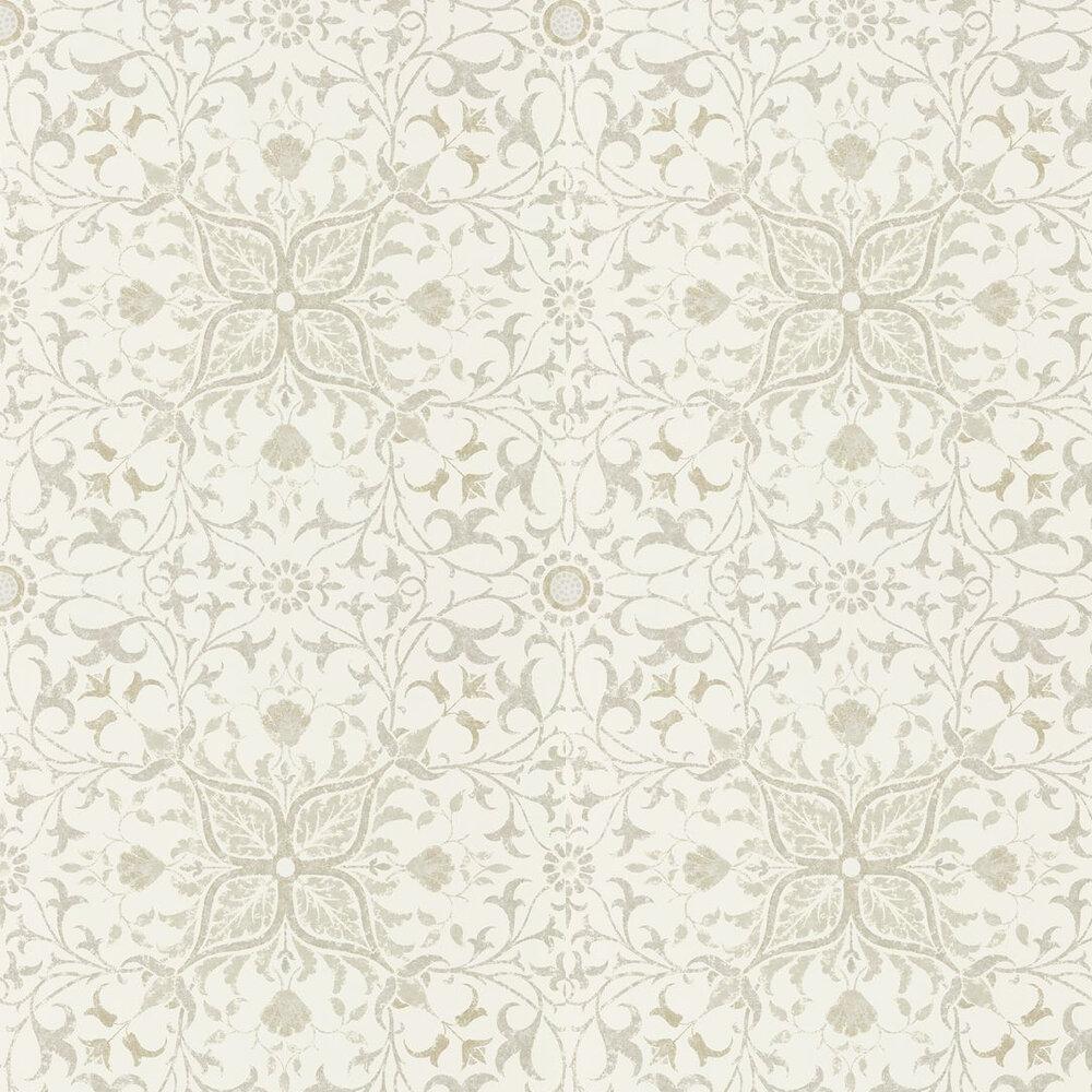 Pure Net Ceiling Wallpaper - Ecru / Linen - by Morris
