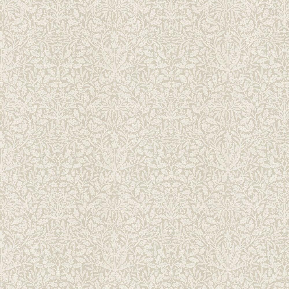 Pure Acorn Wallpaper - Linen / Ecru - by Morris