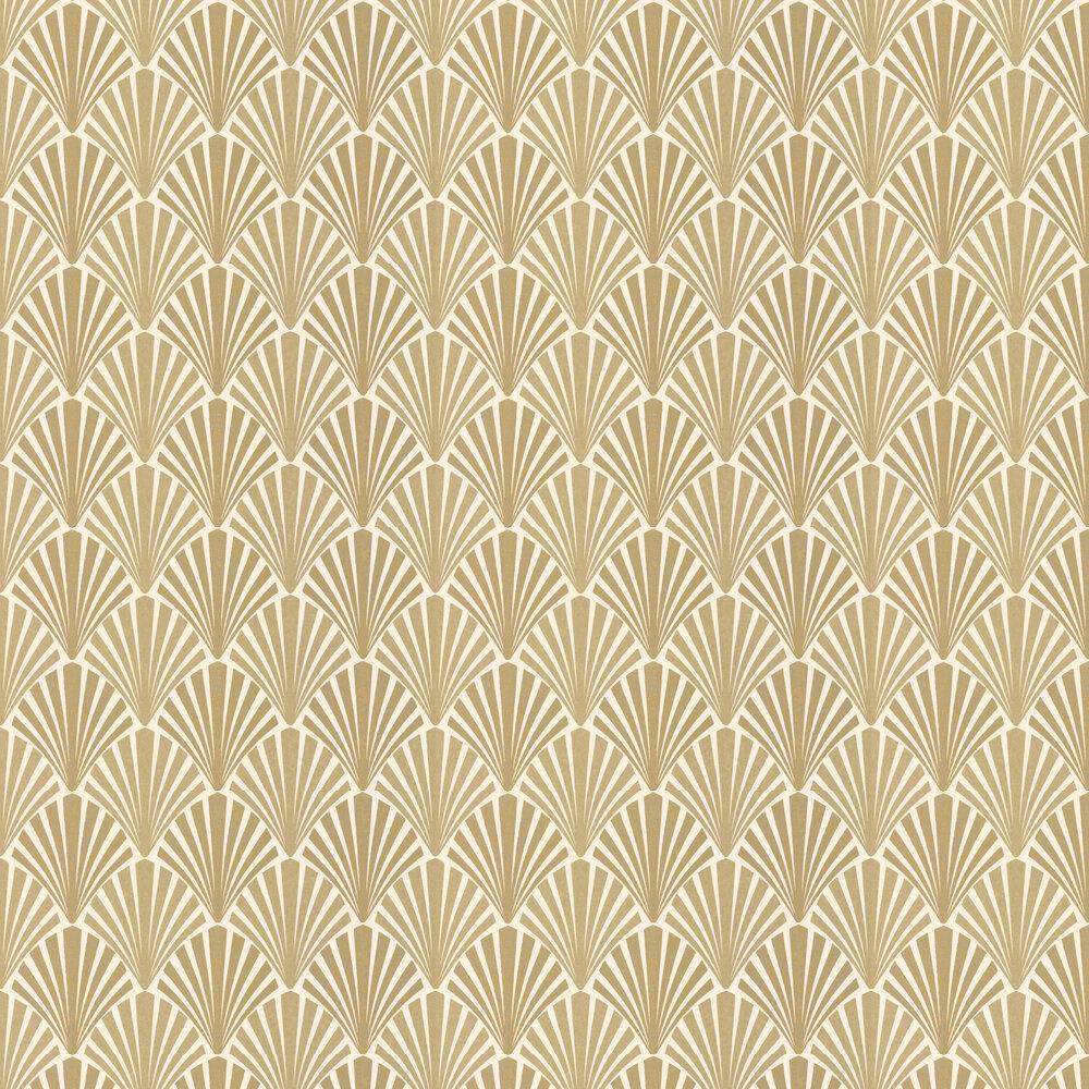 Swing Wallpaper - Gold - by JAB Anstoetz