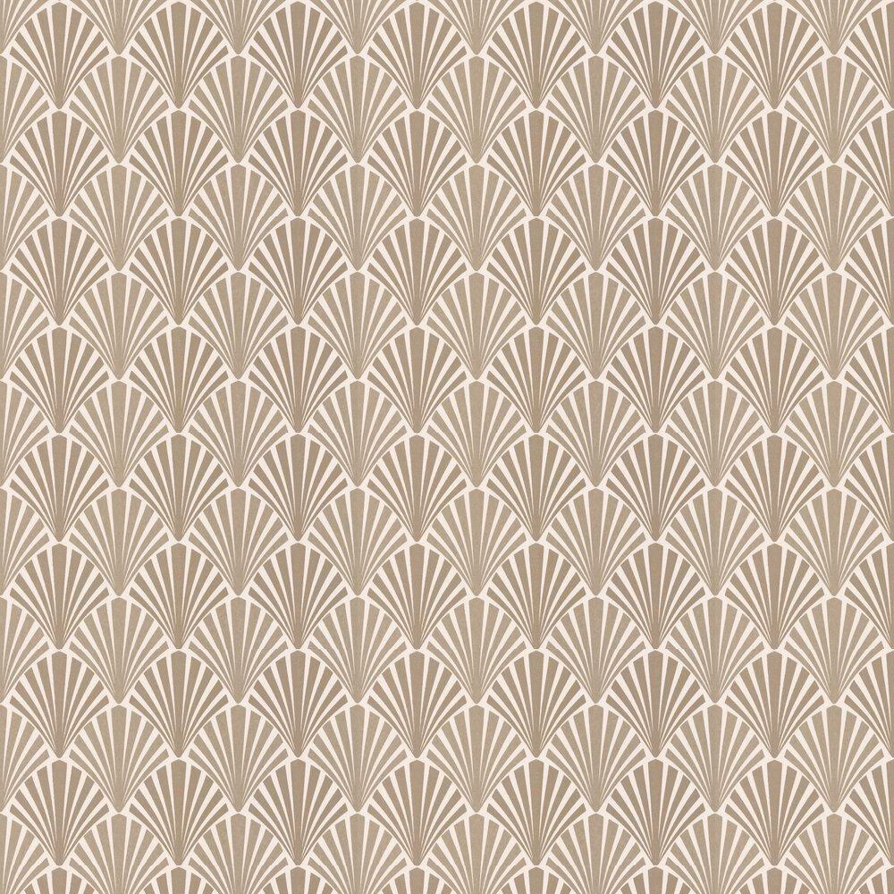 JAB Anstoetz  Swing Bronze Wallpaper - Product code: 4-4049-070