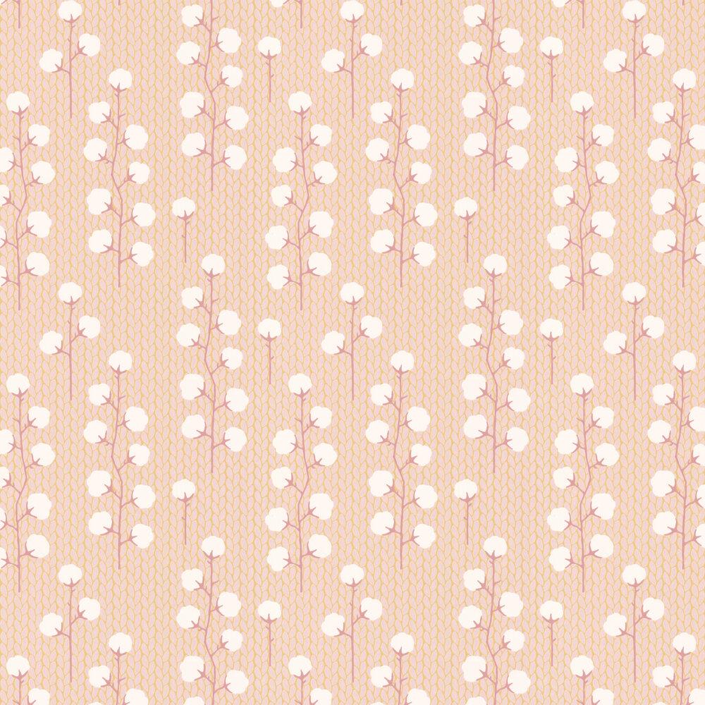Majvillan Sweet Cotton Soft Pink Wallpaper - Product code: 108-01