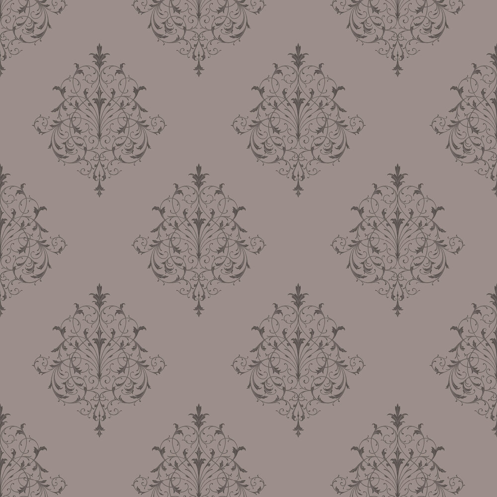 Filigree Wallpaper - Charcoal - by SketchTwenty 3