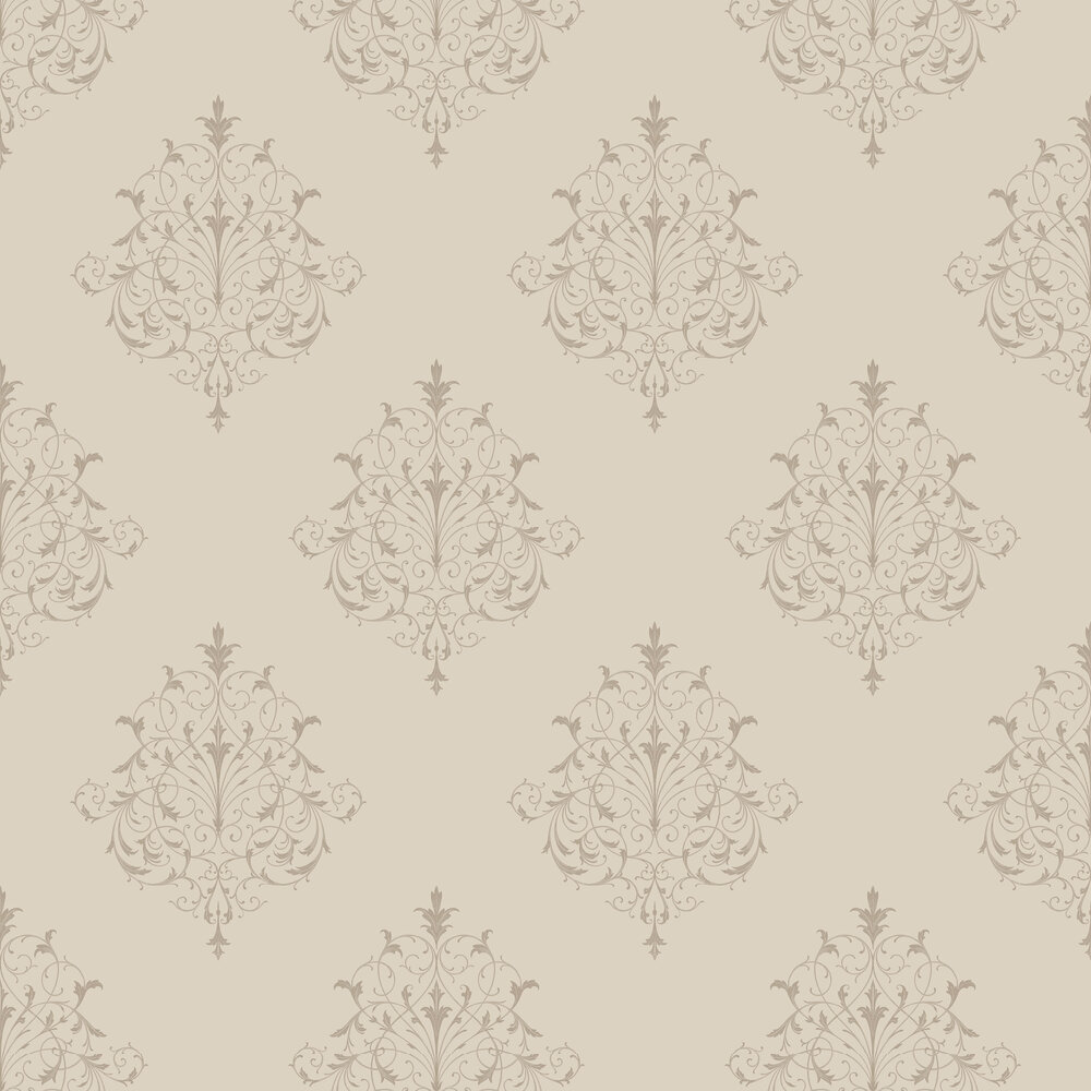 SketchTwenty 3 Filigree Taupe Wallpaper - Product code: PV00207