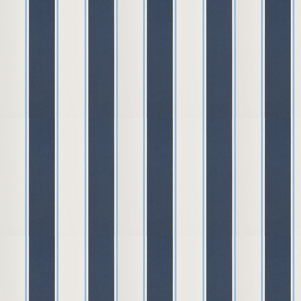 Ralph Lauren Mapleton Stripe Midnight Wallpaper - Product code: PRL703/03