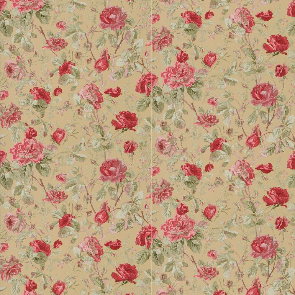 Marston Gate Floral Wallpaper - Tea - by Ralph Lauren