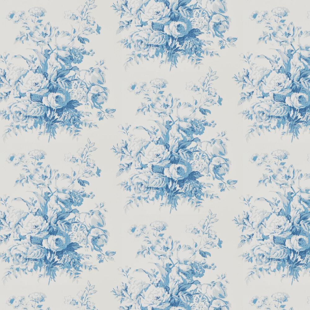 Francoise Bouquet Wallpaper - Porcelain - by Ralph Lauren