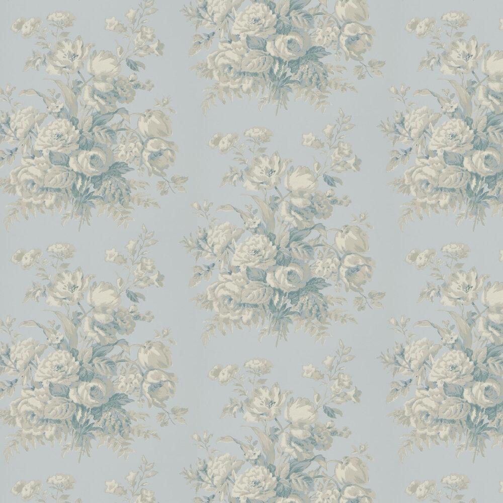 Ralph Lauren Francoise Bouquet Bluestone Wallpaper - Product code: PRL706/05