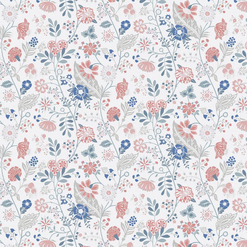 Sandberg Amelie Blue Wallpaper - Product code: 541-56