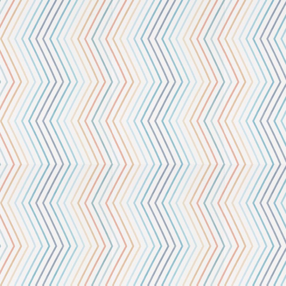 Harlequin Tresillo  Navy, Ochre and Rust Wallpaper - Product code: 111432
