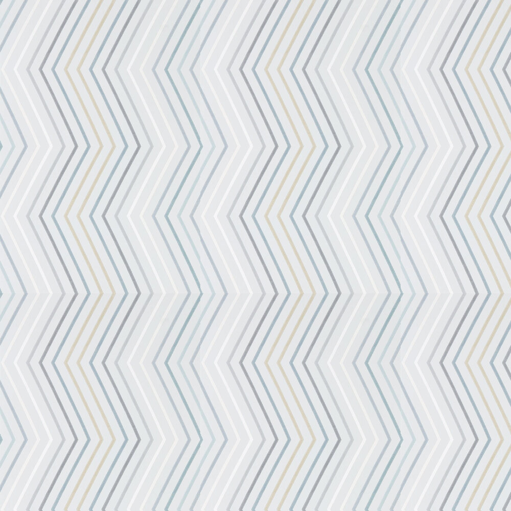 Tresillo  Wallpaper - Graphite, Smoke and Fawn - by Harlequin
