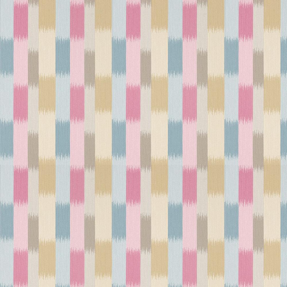 Harlequin Utto Fuchsia, Ochre and Denim Wallpaper - Product code: 111449