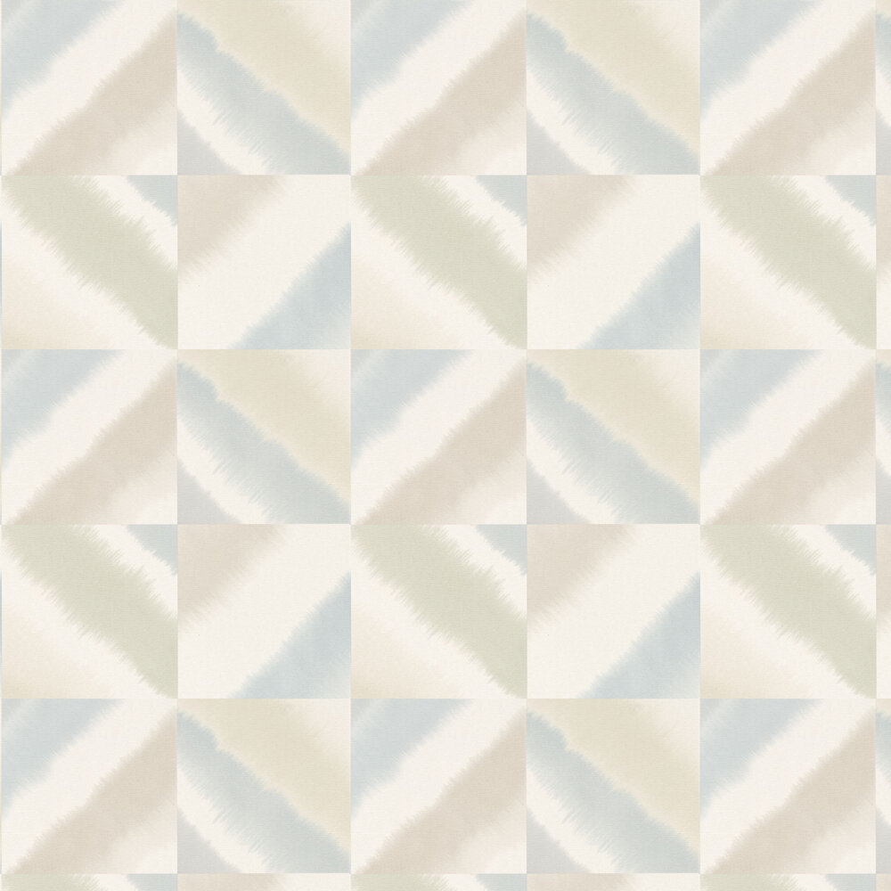 Quadro Wallpaper - Mist, Fawn and Blush - by Harlequin