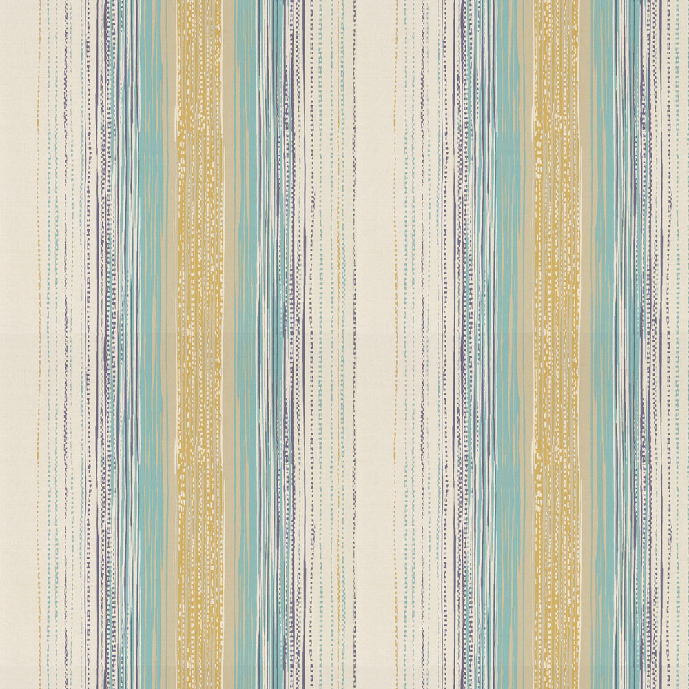 Tilapa  Wallpaper - Seagrass and Ochre - by Harlequin