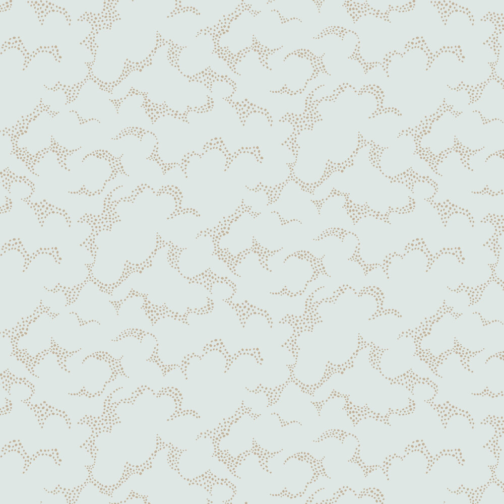 Boråstapeter Molntuss Duck Egg Wallpaper - Product code: 1458