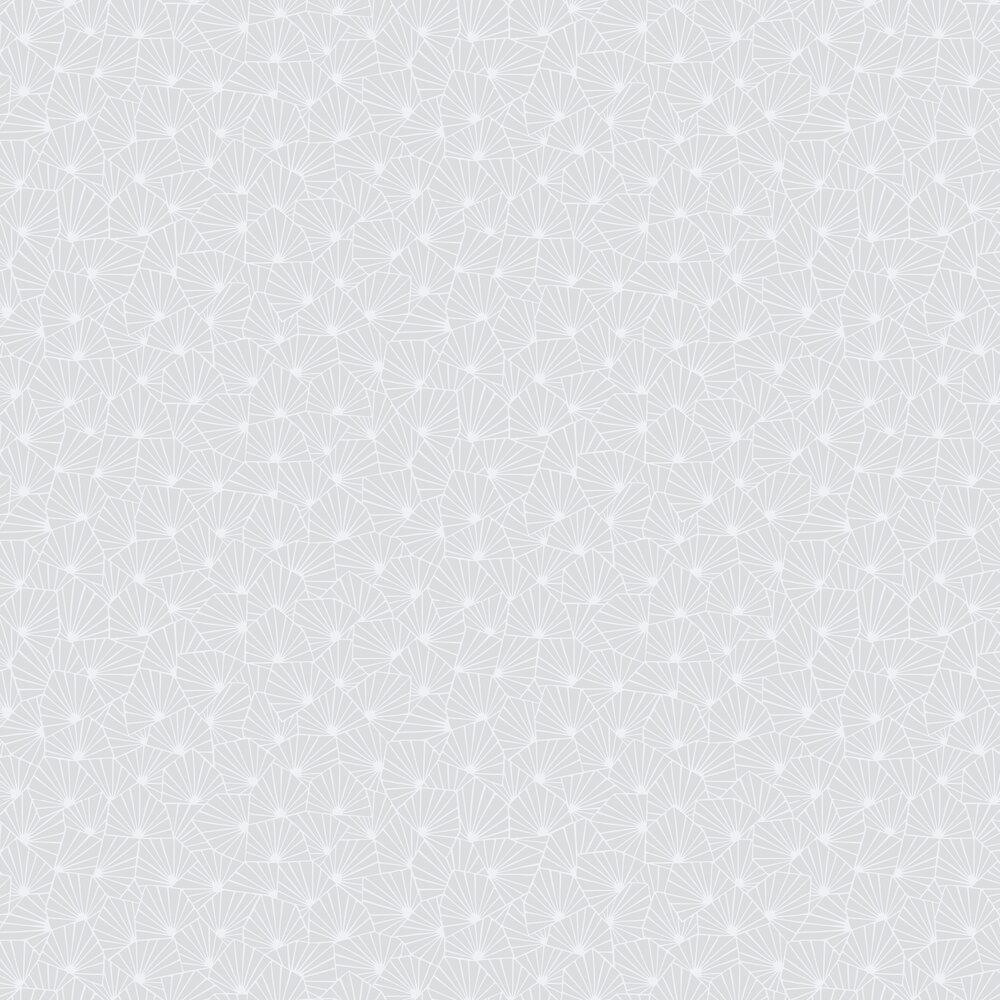 Stjarnflor Wallpaper - Grey - by Boråstapeter
