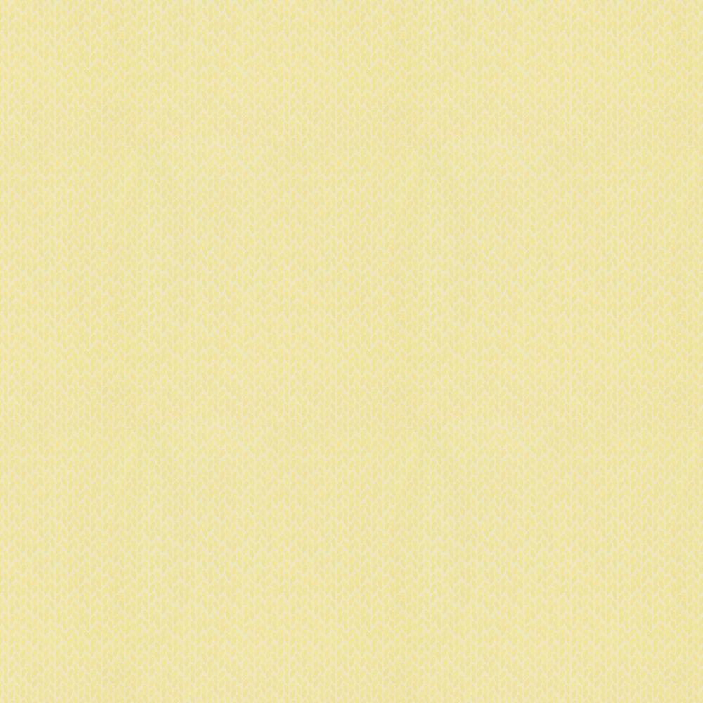 Ella Wallpaper - Yellow - by Sandberg