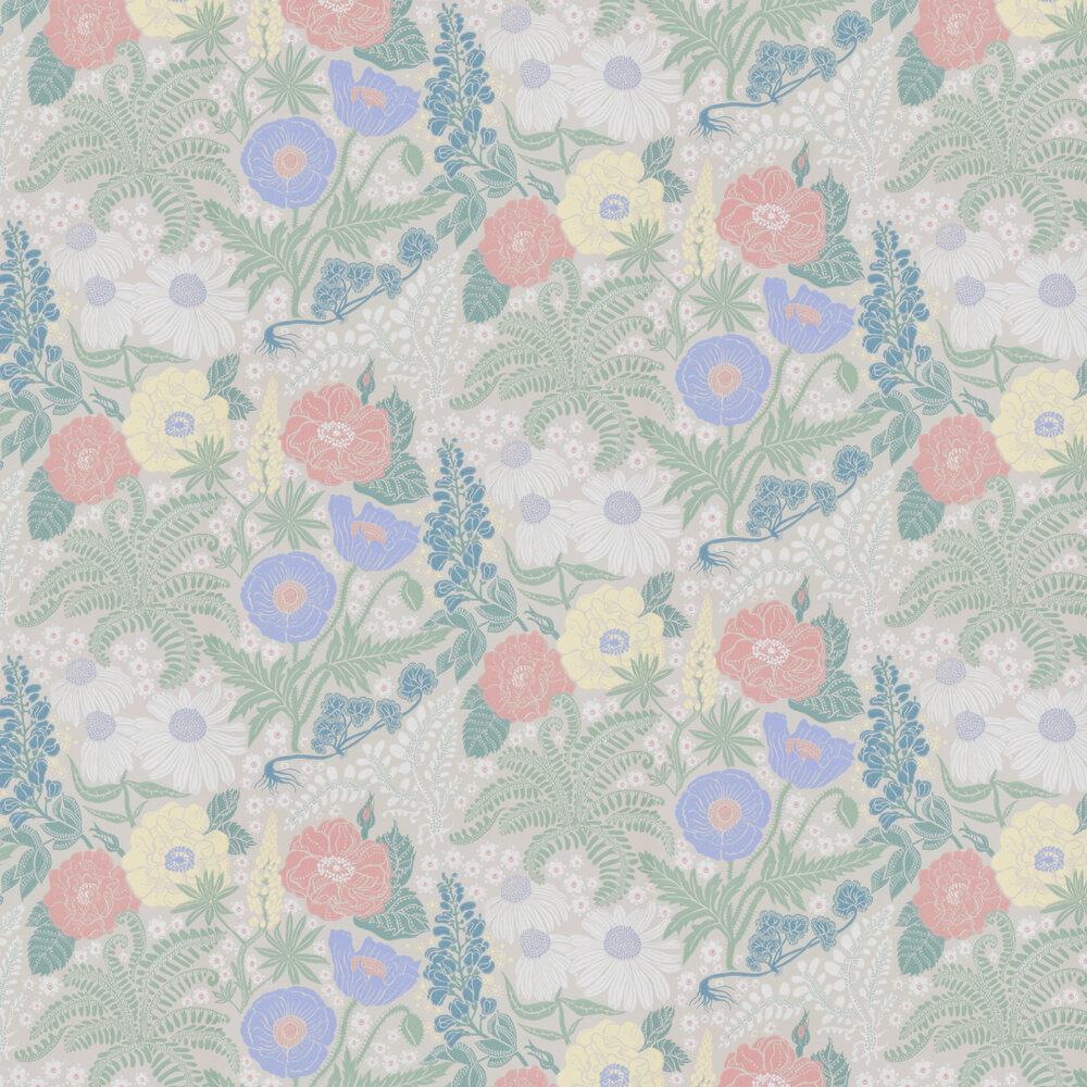 Lisa Wallpaper - Beige - by Sandberg