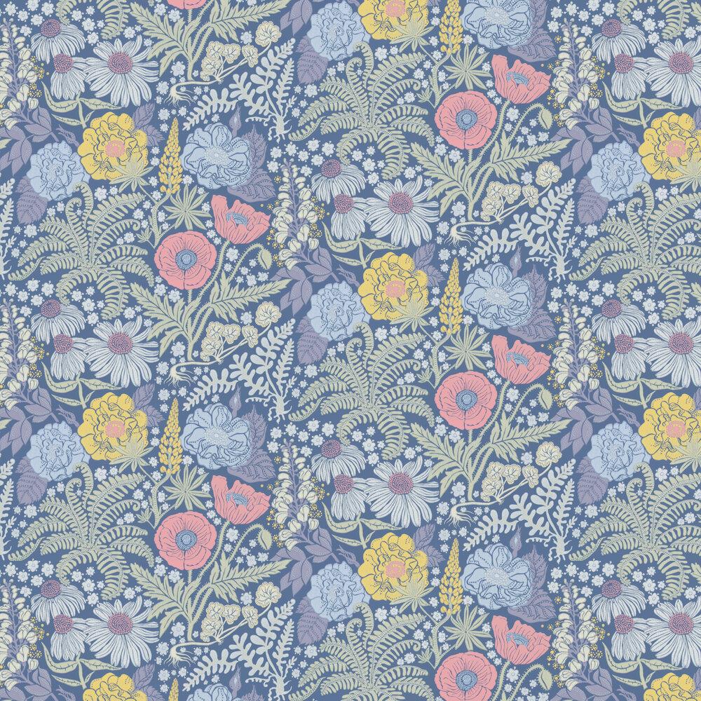 Sandberg Lisa Midnight Blue Wallpaper - Product code: 416-86