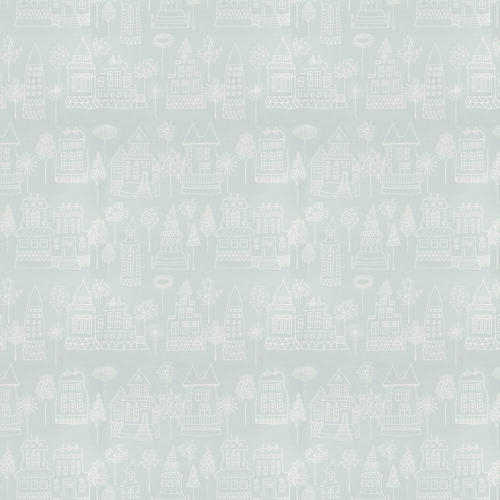 Kaspar Wallpaper - Duck Egg - by Sandberg