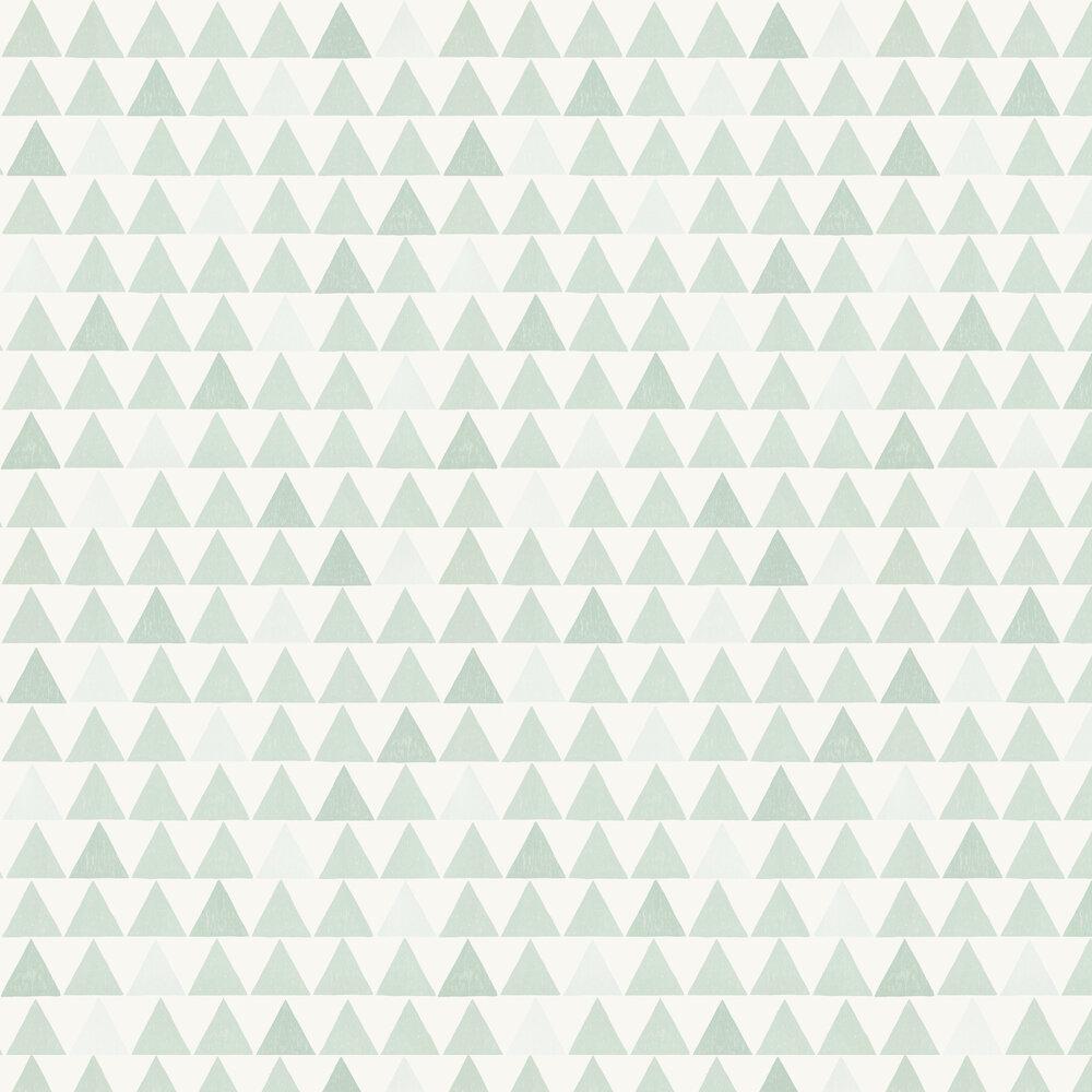 Ture Wallpaper - Duck Egg - by Sandberg