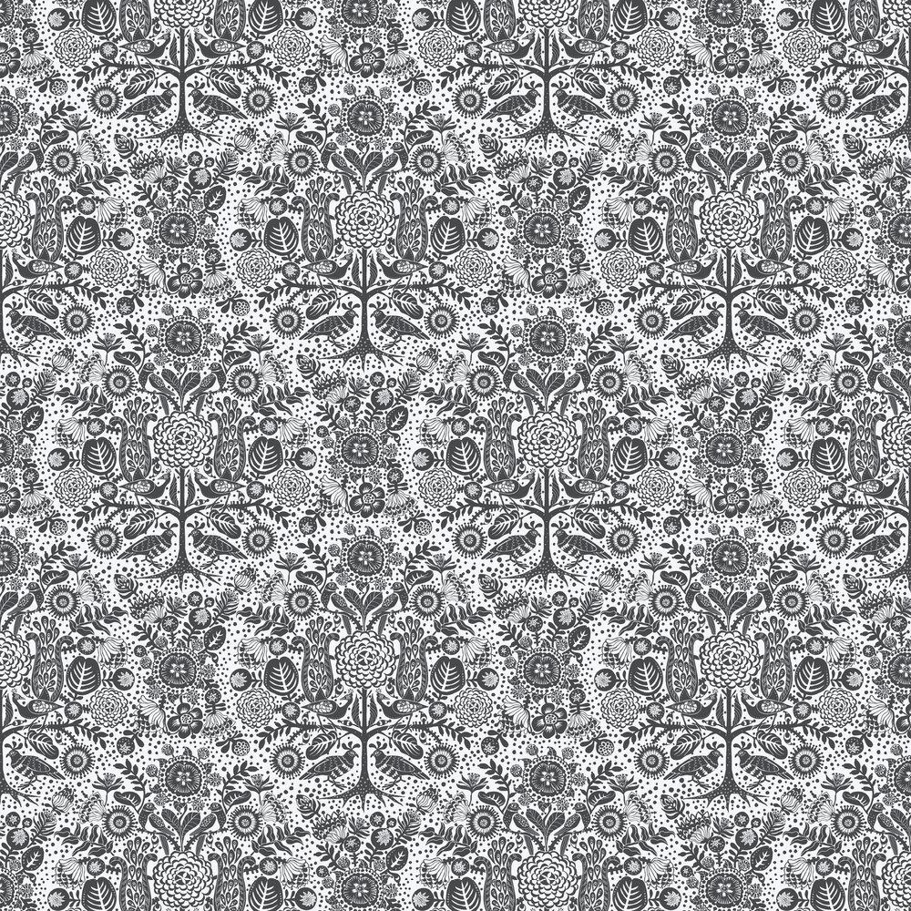 Mika Wallpaper - Black - by Sandberg